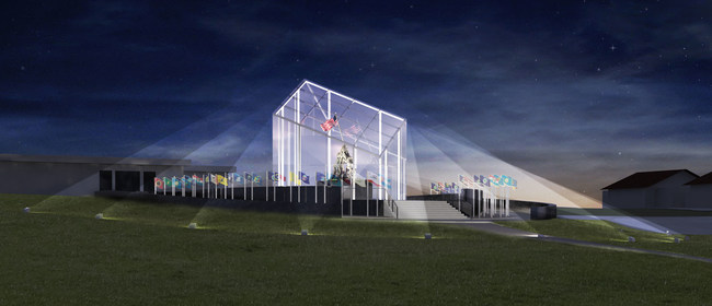 Rendering of monument