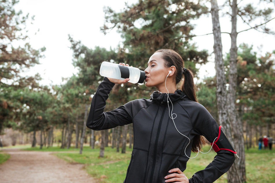 Drink water, not a diet cola. You cannot stay properly hydrated on Diet Coke or alcoholic beverages.  Drink lots of water if you are going to be in the heat.  If you experience dizziness or light headedness, find a cool shady spot, sit down, and drink more water.