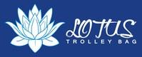 Lotus Trolley Bag logo