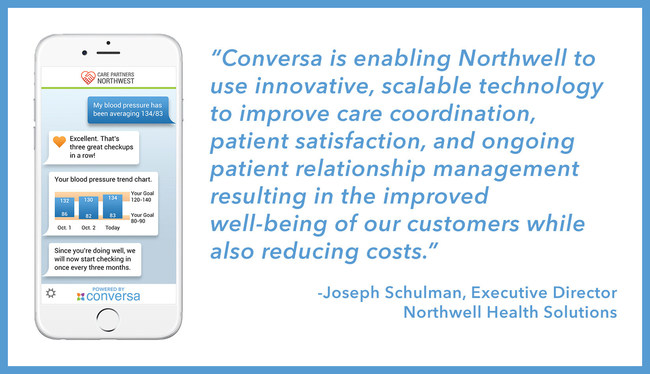 Northwell Ventures, the corporate venture arm of Northwell Health, led the funding round. The investment will be used to expand Conversa's product capabilities and clinical conversation library, enhance its customer and distribution partner operations, and scale its team to meet the market's growing demand.