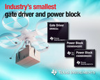 TI introduces the industry's smallest gate driver and power MOSFET solution for motor control