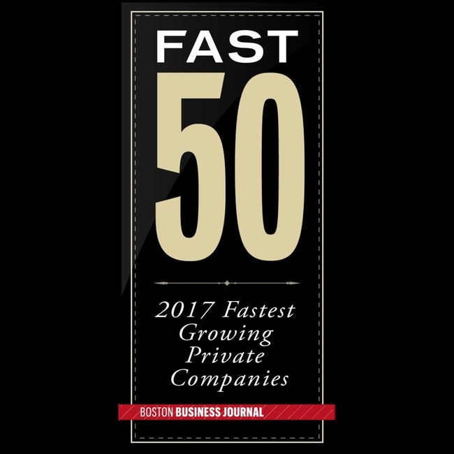 Boston Business Journal Fast 50