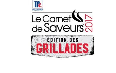 Carnet de Saveurs 2017, ÉDITION GRILLADES (Groupe CNW/McCormick Canada)