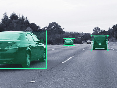 Using CrowdFlower's Image Annotation for Computer Vision, detect areas that correspond to objects, such as cars or pedestrians, in varied settings.