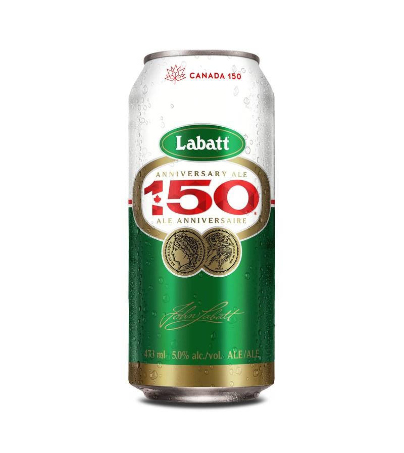 "Labatt 50 gets celebratory makeover to toast Canada's 150th: Introducing ""Labatt 150"" Ale (CNW Group/Labatt Breweries of Canada)"