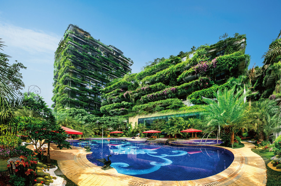 Country Garden Holdings headquarters in Shunde Guangdong China (PRNewsfoto/Country Garden Holdings)