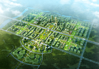 Innovation town in Huizhou China