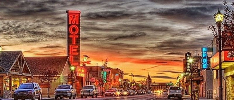 Downtown Shelby, Montana