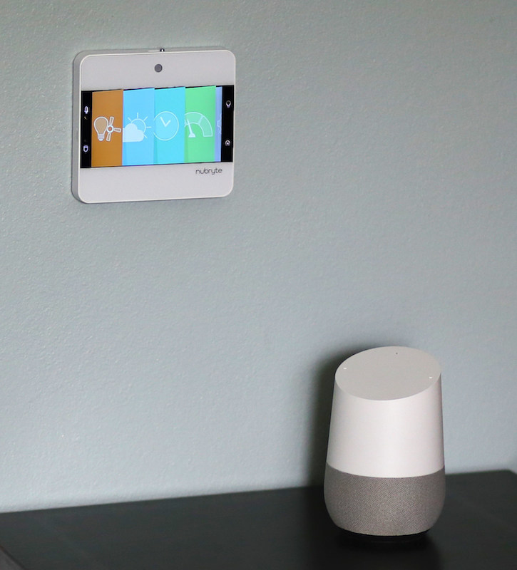 NuBryte, the award winning smart home at the switch, today announced its smart home integration with Google Home. Google Home, with its voice activated speaker, is designed for hands-free help from the Google Assistant to make everyday tasks easier, while also controlling other smart home products.