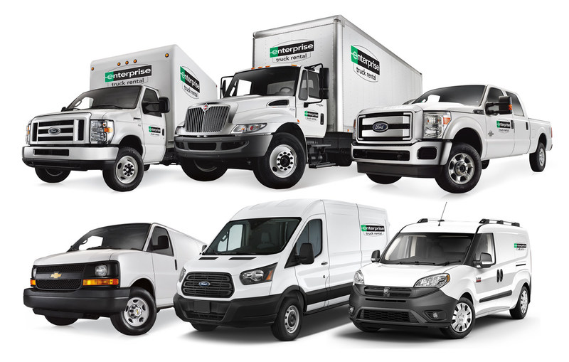 Enterprise Truck Rental's New Albany facility offers a wide range of cargo vans, box trucks and tow-capable pickup trucks for both business and personal use.