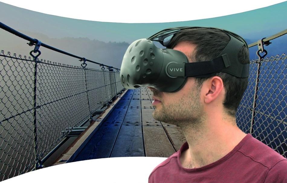 SMI Eye Tracking HMD based on HTC Vive (PRNewsfoto/SensoMotoric Instruments GmbH)