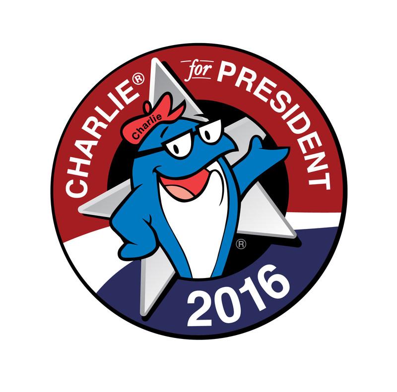 Charlie® for President 2016 campaign logo