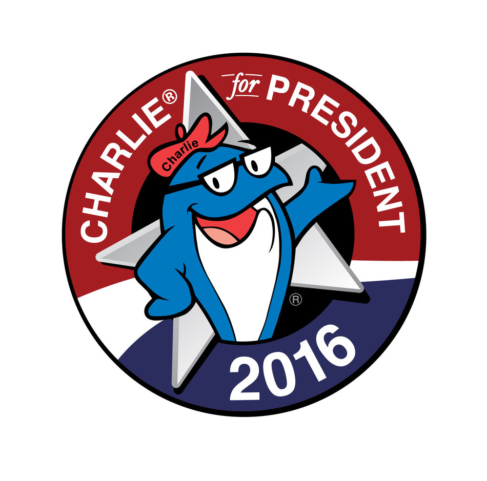 Charlie® for President 2016 campaign logo