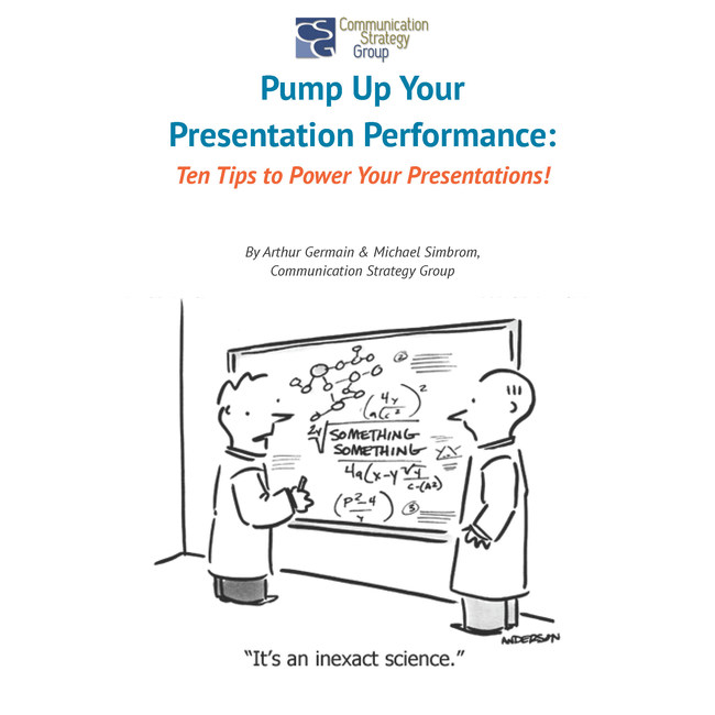 CSG Pump Up Your Presentations