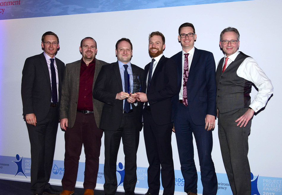The Environment Agency presented the Thames Estuary Asset Management 2100 programme a Project Excellence Award in Innovation for its contribution to managing flood and coastal risk and building local resilience to flooding.