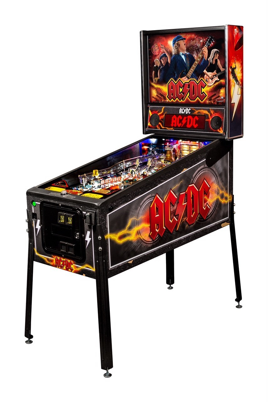 Back by popular demand, Stern Pinball encores AC/DC Pinball Machine.