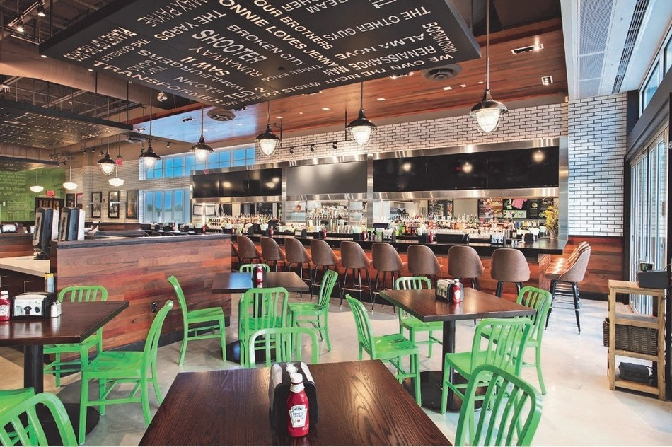 Photo Courtesy of Wahlburgers: Wahlburgers Conceptual Rendering