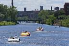 Saison de navigation au lieu historique national du Canal-de-Lachine ©Parcs Canada (Groupe CNW/Agence Parcs Canada - Unité des voies navigables)
