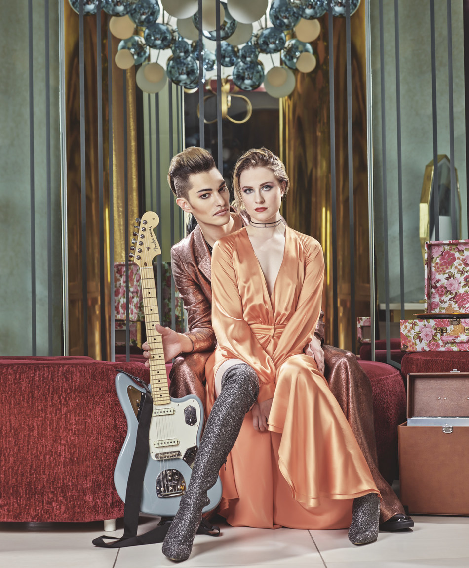 To celebrate the launch of The Sound of Your Stay WAX program, Hard Rock has partnered with five buzzed about artists, including Evan Rachel Wood and Zach Villa's Rebel and a Basketcase.
