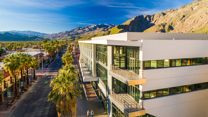 """Palm Springs revitalization project brings new experiences to the heart of downtown this fall. Visitors will find instagrammable hot spots from the three-story-high """"Forever Marilyn"""" statue to the city's first-ever rooftop bar and pool at the Kimpton Rowan Hotel. They can also shop top, eclectic brands and enjoy incredible dining experiences surrounded by beautiful scenery and views few can match."""