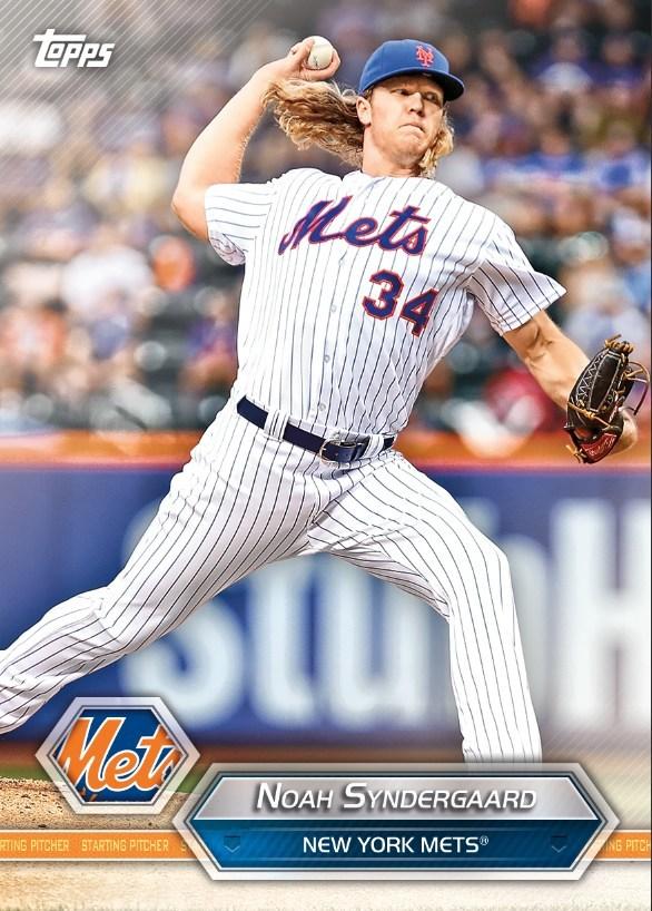 Noah Syndergaard, New York Mets - Mets Crate
