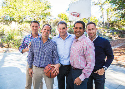 Menlo Ventures: Shawn Carolan, Managing Director; Matt Murphy, Managing Director; Mark Siegel, Managing Director; Venky Ganesan, Managing Director; and Jordan Ormont, Talent Partner. (PRNewsfoto/Menlo Ventures)