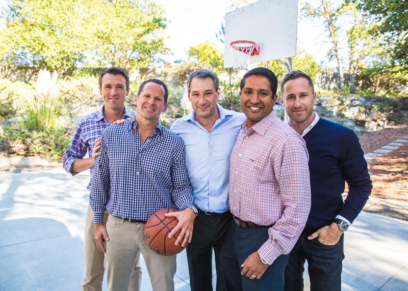 Menlo Ventures: Shawn Carolan, Managing Director; Matt Murphy, Managing Director; Mark Siegel, Managing Director; Venky Ganesan, Managing Director; and Jordan Ormont, Talent Partner. (PRNewsfoto/Menlo Ventures)