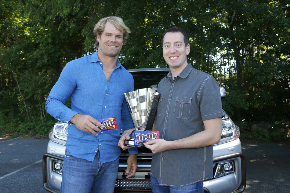 Kyle and Greg Olsen talk about Kyle's championship trophy, fatherhood and life as professional athletes.