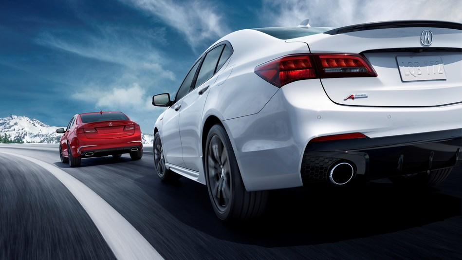 New 2018 Acura TLX V6 A-Spec and Advance