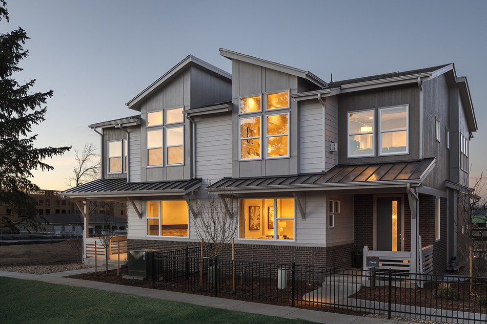 CalAtlantic Homes announced the Grand Opening of Stapleton Beeler Park, a stunning collection of five contemporary paired home designs in the Stapleton master-planned community in Denver, CO. The public is invited to tour Stapleton at Beeler Park during this weekend's Grand Opening celebration.