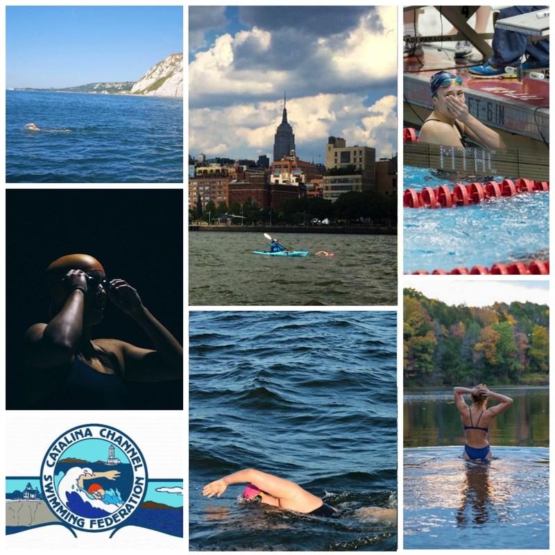 Swimmers Abby Bergman, Eliza Cummings, Gabriela Kovacikova, Rebecca Nevitt, Cathleen Pruden, Charlotte Samuels.