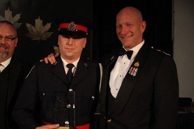 Det. Constable Ryan Johnson, Greater Sudbury Police (CNW Group/Police Association of Ontario)