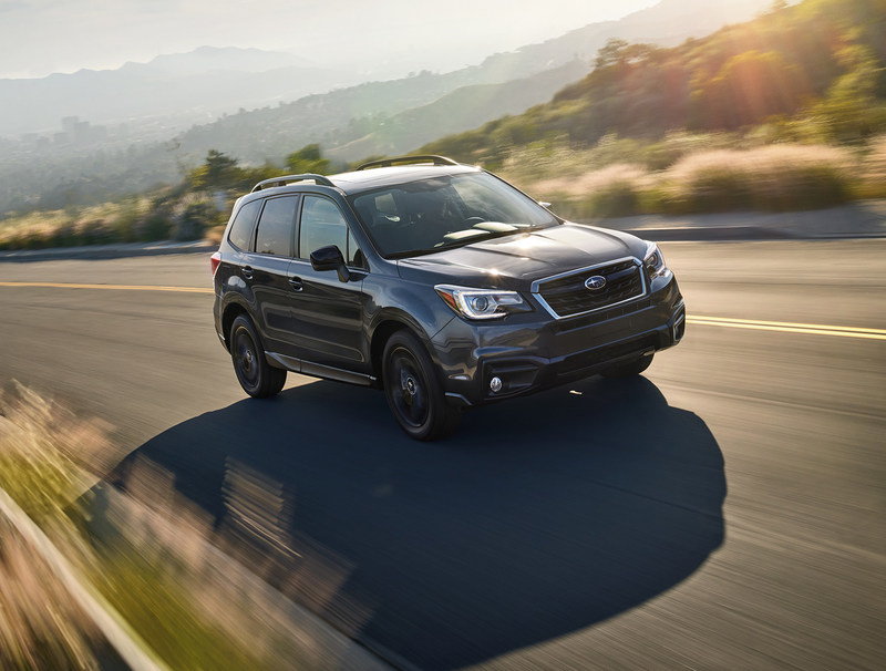Subaru of America Announces Pricing on 2018 Forester Models and Debuts Black Edition Package