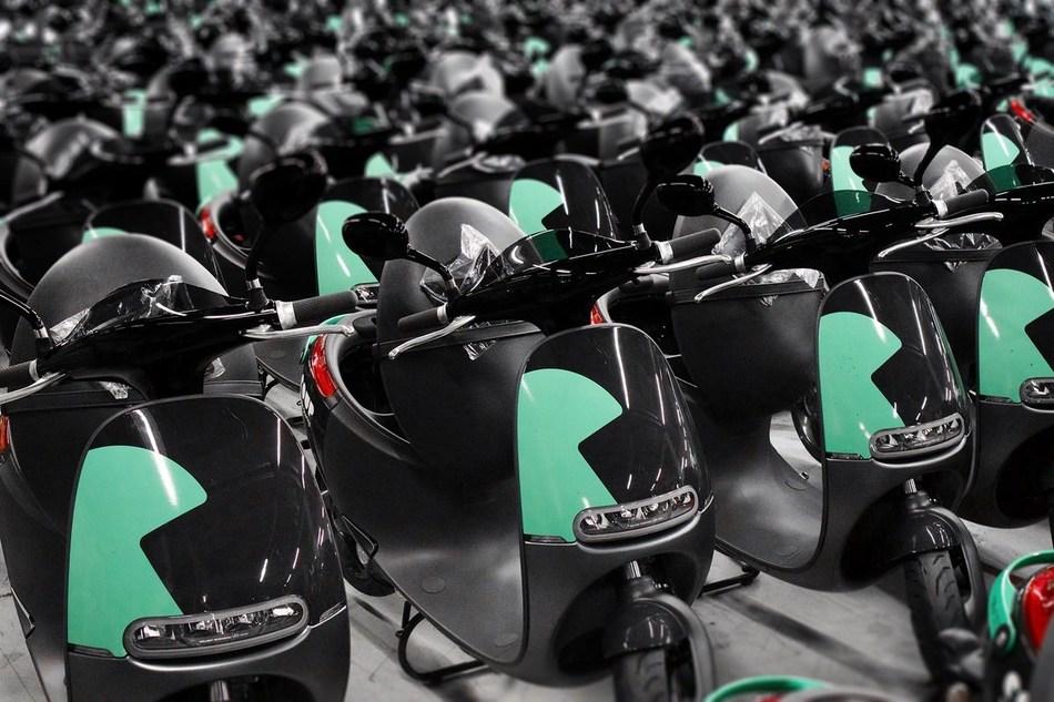 Coup Fleet of Gogoro Smartscooters™.