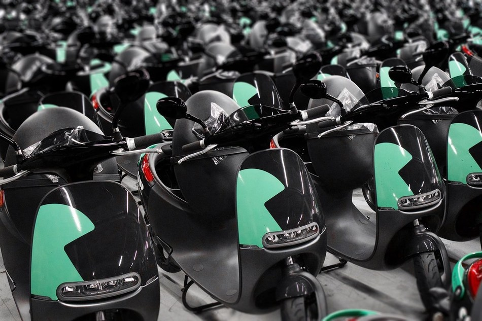 Coup Fleet of Gogoro Smartscooters™.