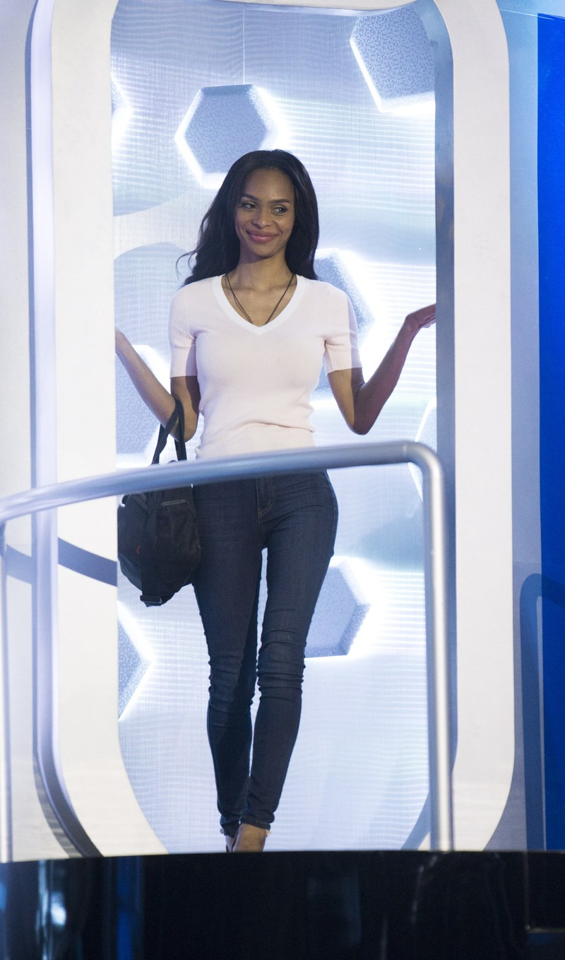 Ika Wong of Thornhill, Ont. leaves the BBCAN Odyssey after her eviction (CNW Group/Global Television)