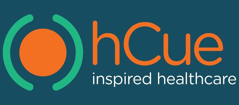 """As part of the new branding, myhCue has a new tagline """"Inspired Healthcare"""". (PRNewsfoto/hCue)"""