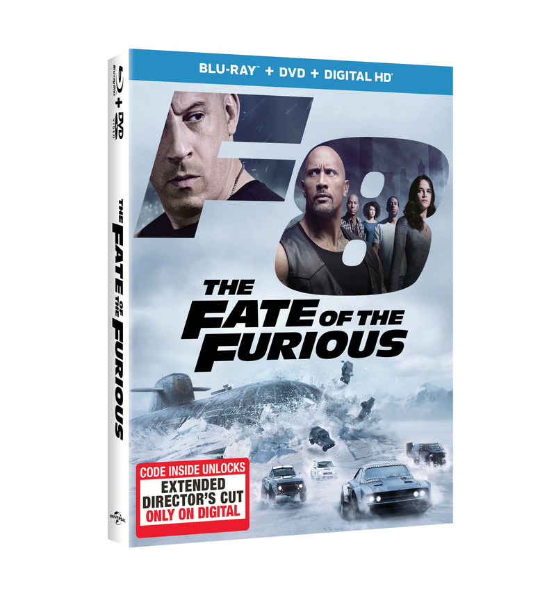 FROM UNIVERSAL PICTURES HOME ENTERTAINMENT: THE FATE OF THE FURIOUS