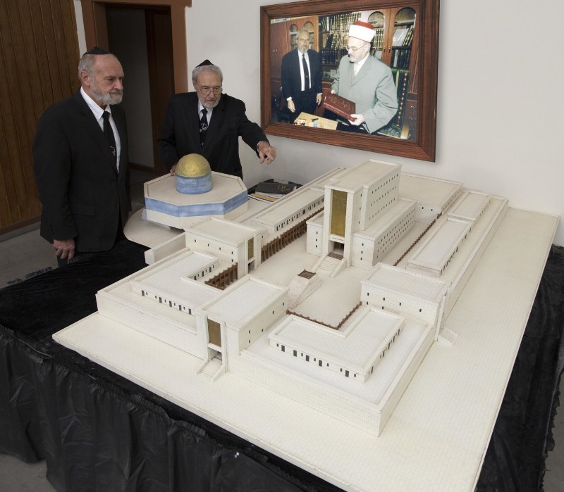 Temple model at The House of Yahweh
