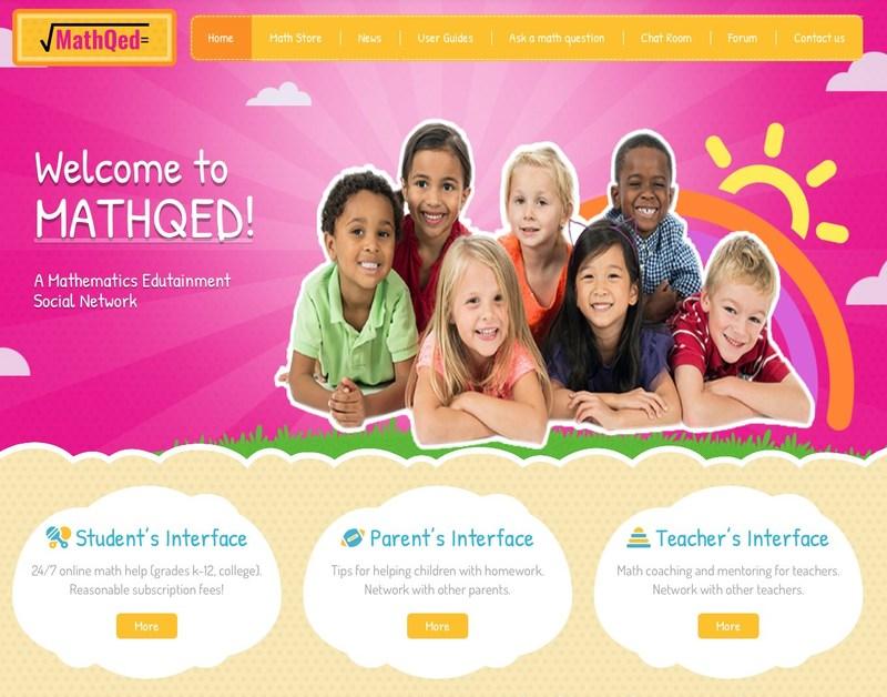MathQED: A math edutainment social network