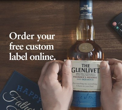Using the online tool, consumers can input their custom message; adjust size, colour, and font for the desired look. After shipping and delivery information is completed, they will receive their free easy-to-apply label in the mail within 10 business days. (CNW Group/Corby Spirit and Wine Communications)