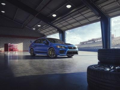 Subaru WRX STI 2018 (Groupe CNW/Subaru Canada Inc.)
