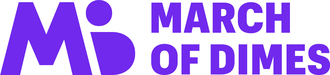 March of Dimes Foundation Logo (PRNewsfoto/March of Dimes Foundation)