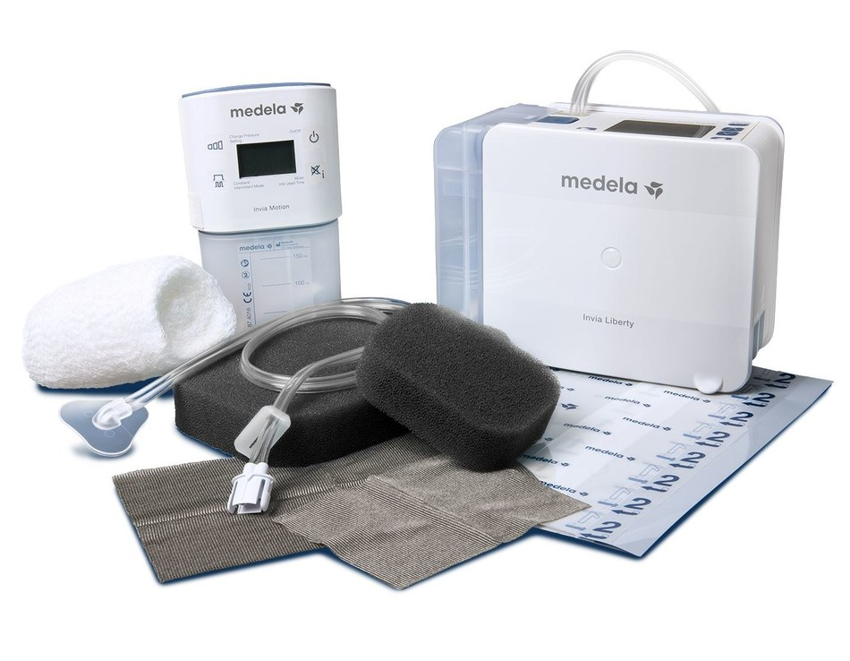 The new Invia® FitPad[TM] Negative Pressure Wound Therapy (NPWT) dressing portfolio (http://bit.ly/2pP4UFO) launched by Medela Healthcare enables NPWT patients and caregivers to have confidence in their therapy