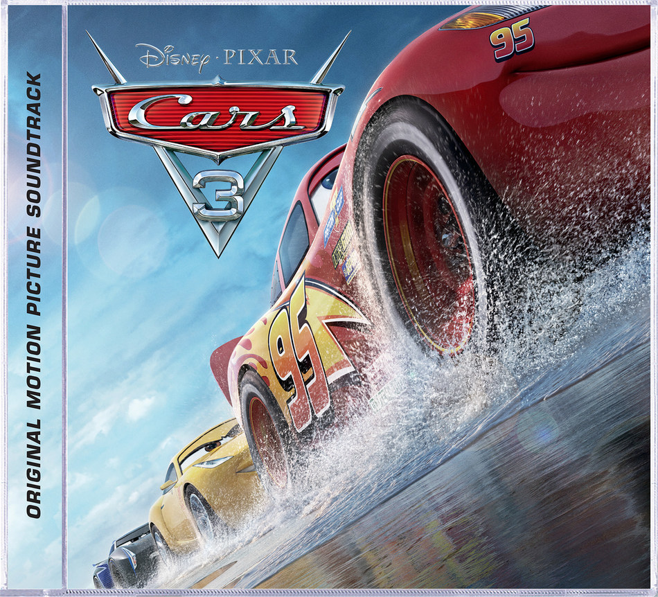 Cars Original Motion Picture soundtrack cover art (PRNewsfoto/Walt Disney Records)