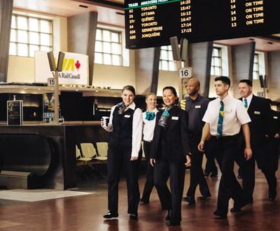 VIA Rail – Un nouveau look (Groupe CNW/VIA Rail Canada Inc.)