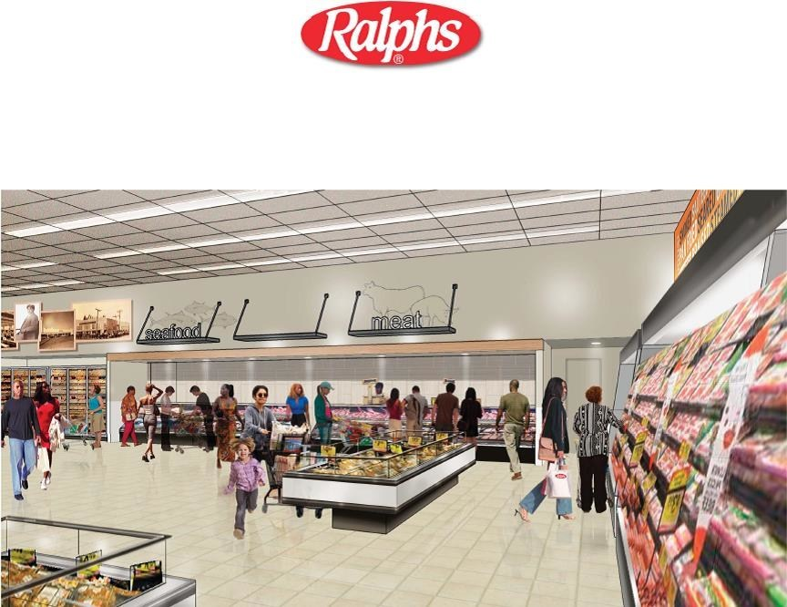 The Meat Department at the remodeled Ralphs at 1730 West Manchester Boulevard in Los Angeles has been completely redesigned to meet the needs of the community the store serves.