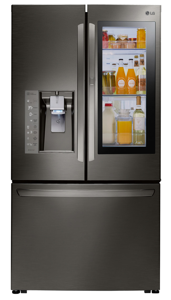 LG InstaView™ Door-in-Door® Refrigerator (Model # LFXC24796D)