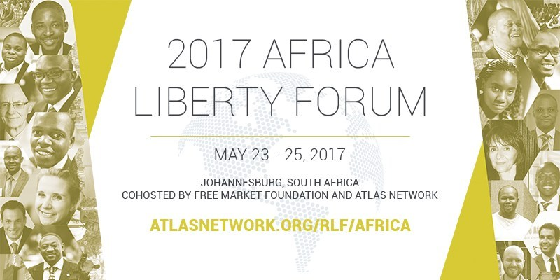 Africa Liberty Forum, May 23-25 in Johannesburg, South Africa, sponsored by Atlas Network with organizing host the Free Market Foundation (FMF), is a gathering of the best and the brightest in Africa to discuss and exchange solutions that promote liberty and free-market reforms in the region.
