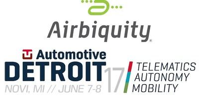 Airbiquity将在汽车技术大会TU-Automotive Detroit 2017上展示新的OTAmatic™产品
